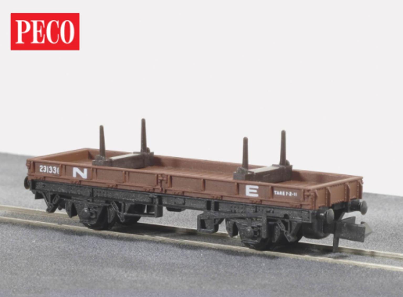 NE Brown Bolster Wagon, 15ft Wheelbase