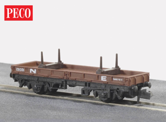 NE Brown Bolster Wagon, 15ft Wheelbase