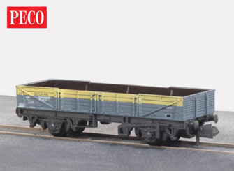 Ferry Tube Wagon - BR Stores Yellow/Grey