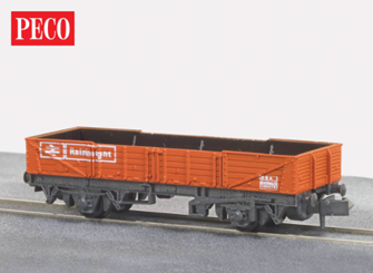 Tube Wagon, Railfreight BR Red, 15ft Wheelbase