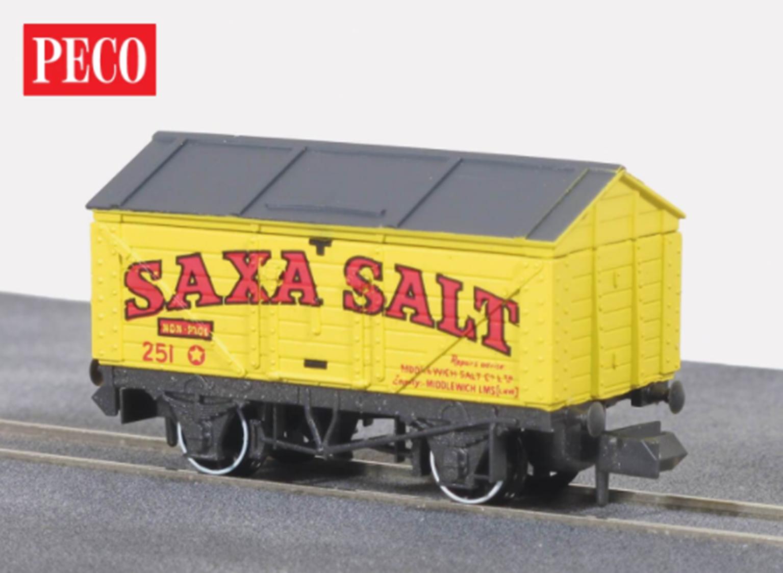 Yellow Saxa Salt Wagon