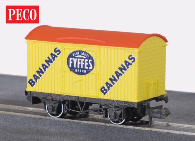 Yellow Fyffes Refrigerator Box Van
