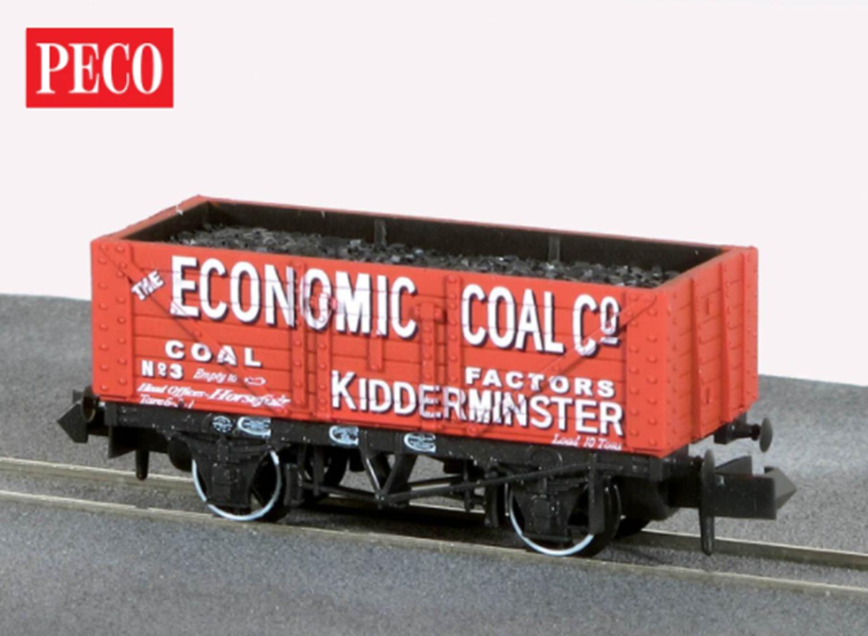 "7-plank open coal wagon - ""The Economic Coal Co. Ltd. No. 3"""