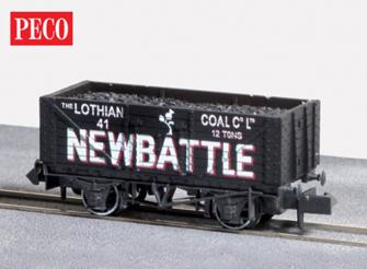 "7-plank coal wagon ""Newbattle No. 41"""