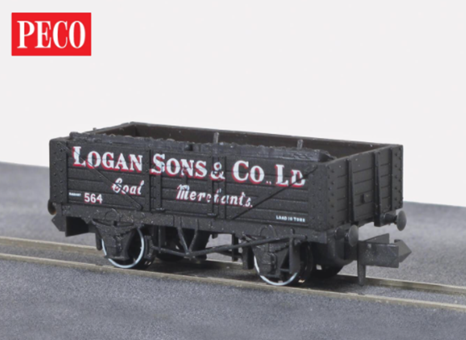 'Logan & Son Co.' 5 Plank Private Owner Coal Wagon