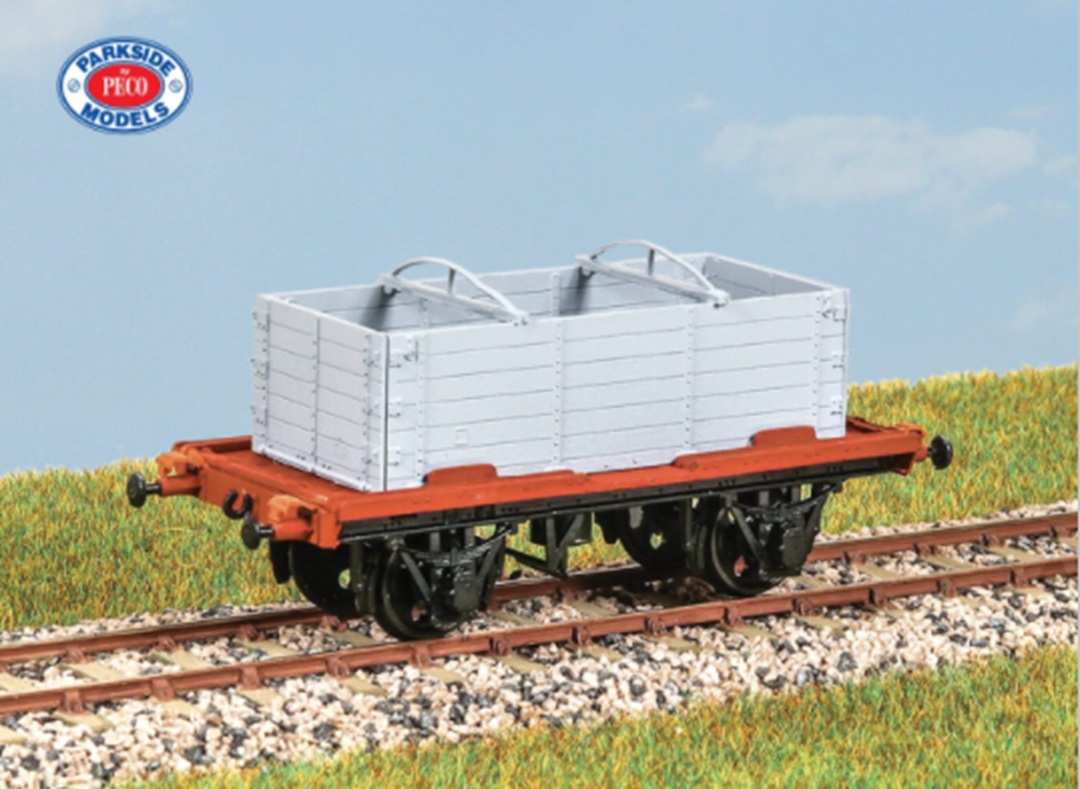 LNER Conflat S Wagon with DX Container Kit