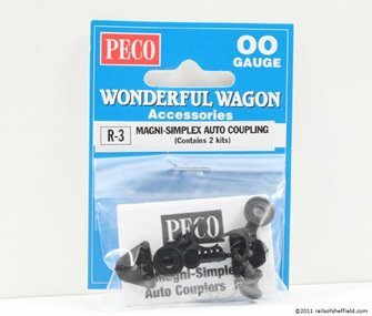 Peco R-3 Magni-simplex auto coupler Mk III with screw