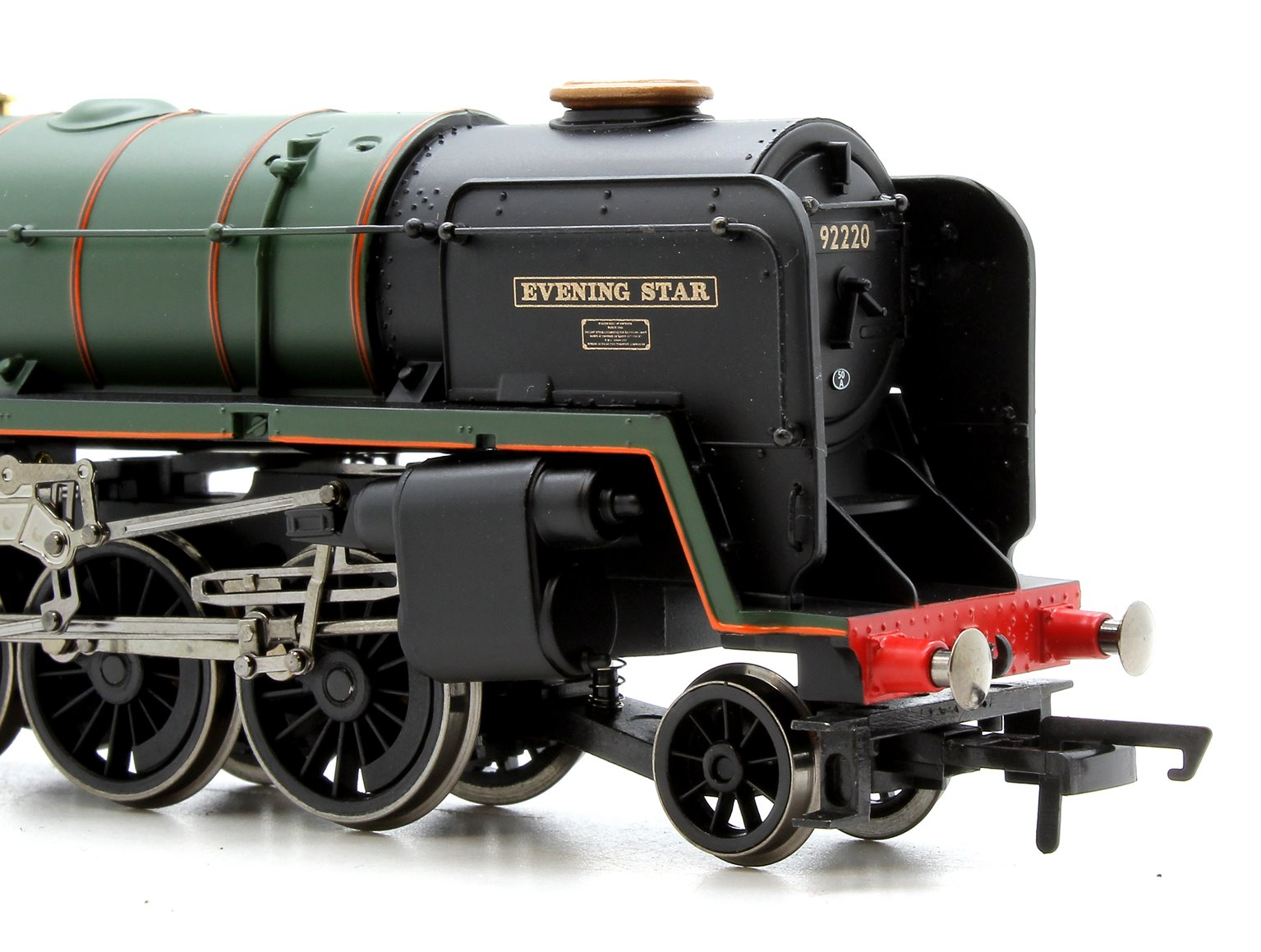 Railroad 'Evening Star' BR Green Class 9F 2-10-0 Locomotive 92220