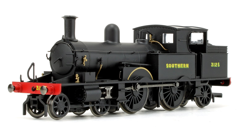 Adams Radial 415 Class Southern SR Black 4-4-2 Tank Locomotive No.3125