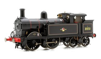 Wainwright H Class BR Black (Late) 0-4-4 Tank Locomotive No.31551