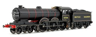 Holden B12 Transition BR Black 4-6-0 Steam Locomotive No.61556