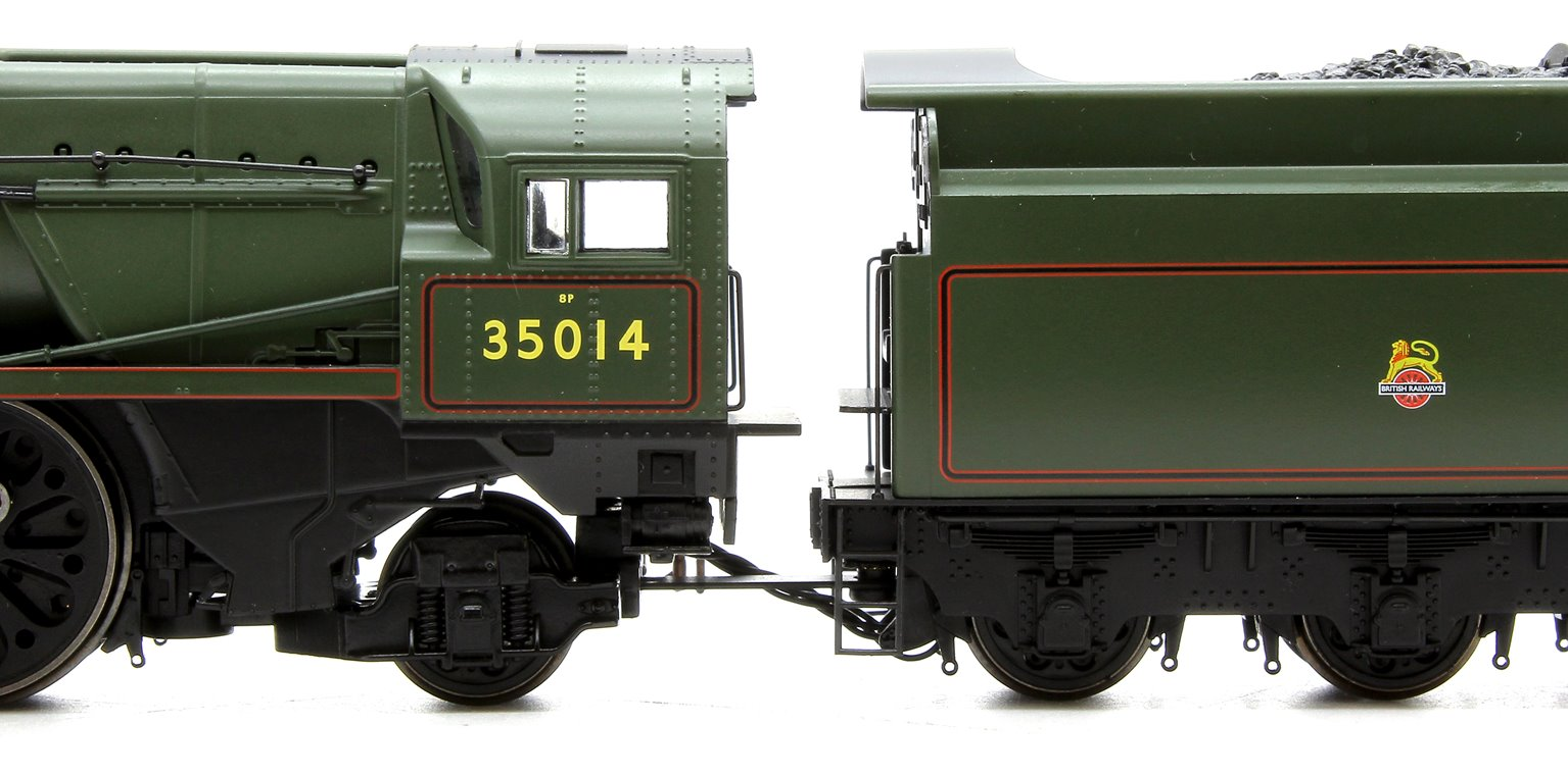 BR 4-6-2 Nederland Line Merchant Navy Class (Re-built) - Early BR