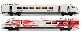 Hitachi IEP Bi-Mode Class 800/0 DPTS & DPTF Test Train Power Units Train Pack - Limited Edition