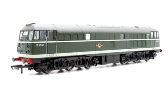 Class 31 'D5551' BR Green AIA-AIA Diesel Locomotive with TTS Sound