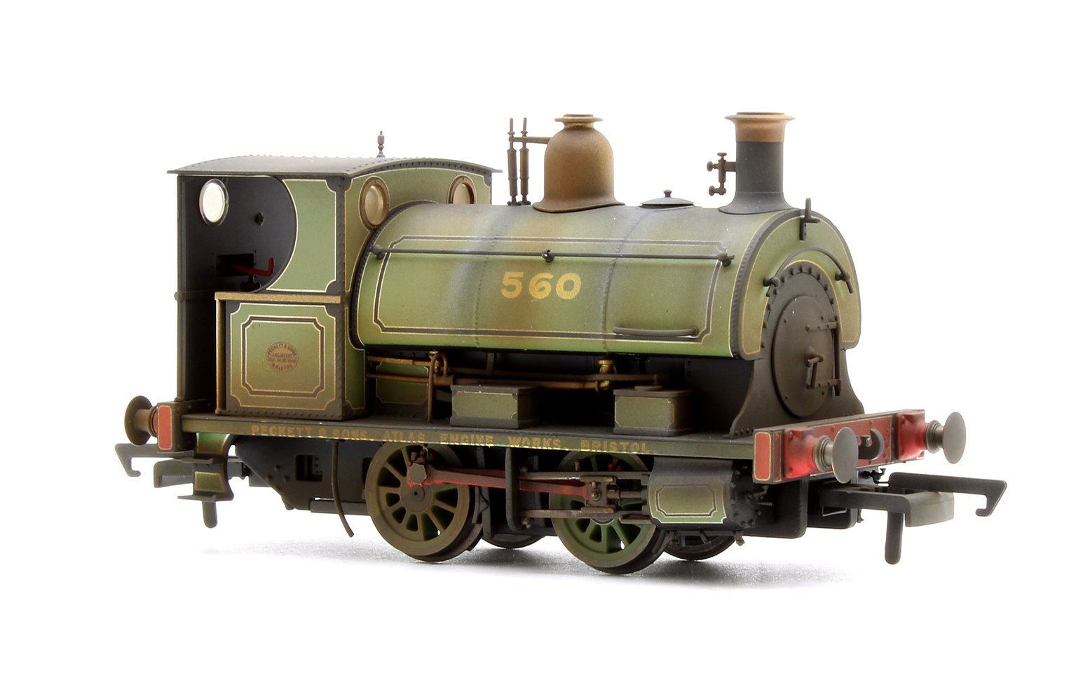 Custom Finished Peckett Works Livery No.560/1893 0-4-0ST Weathered