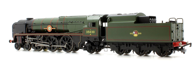 BR Merchant Navy (Rebuilt) 'Elder Dempster Lines' BR Green 4-6-2 Locomotive No.35030