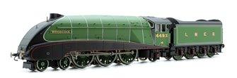 LNER Green 'Woodcock' Class A4 4-6-2 Steam Locomotive No.4493