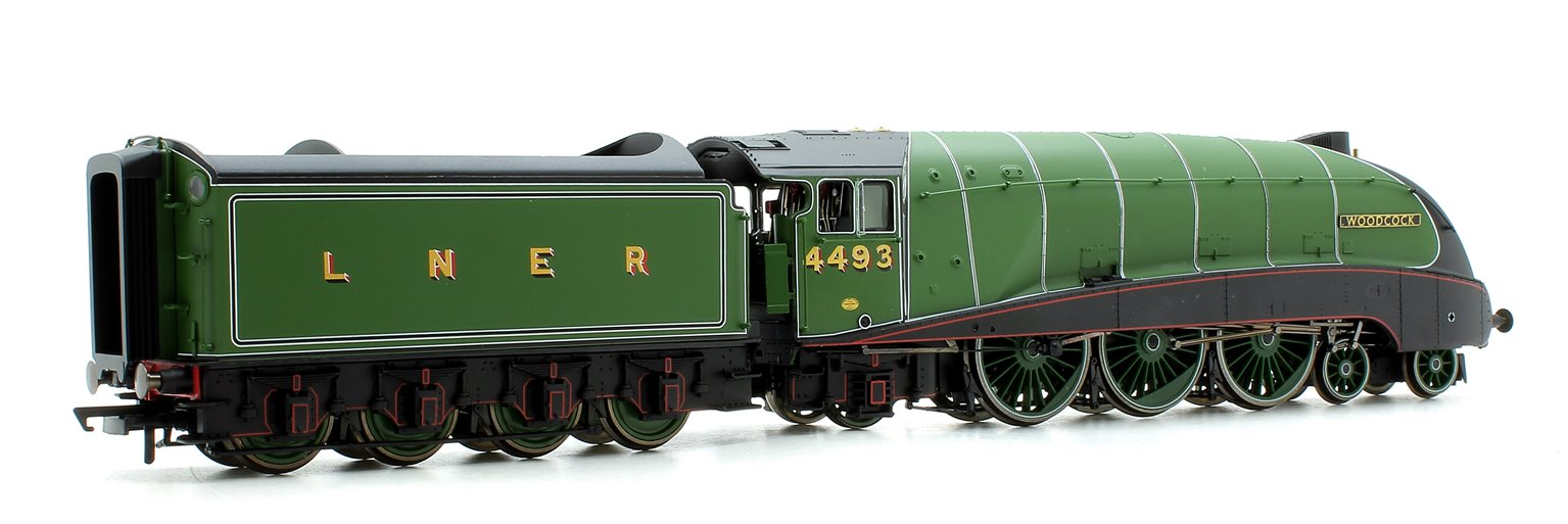 LNER Green 'Woodcock' Class A4 4-6-2 Steam Locomotive No.4493