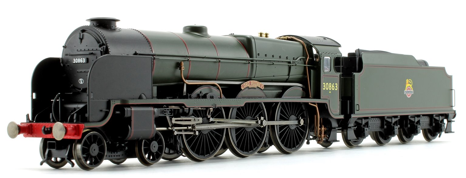 'Lord Rodney' BR Green Lord Nelson Class 4-6-0 Steam Locomotive No.30863