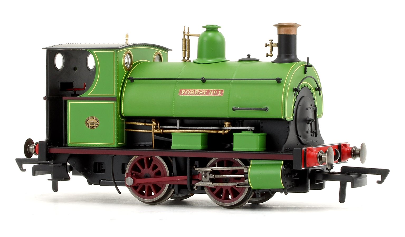 'Forest No. 1' Peckett W4 Class Charity Colliery 0-4-0ST Locomotive