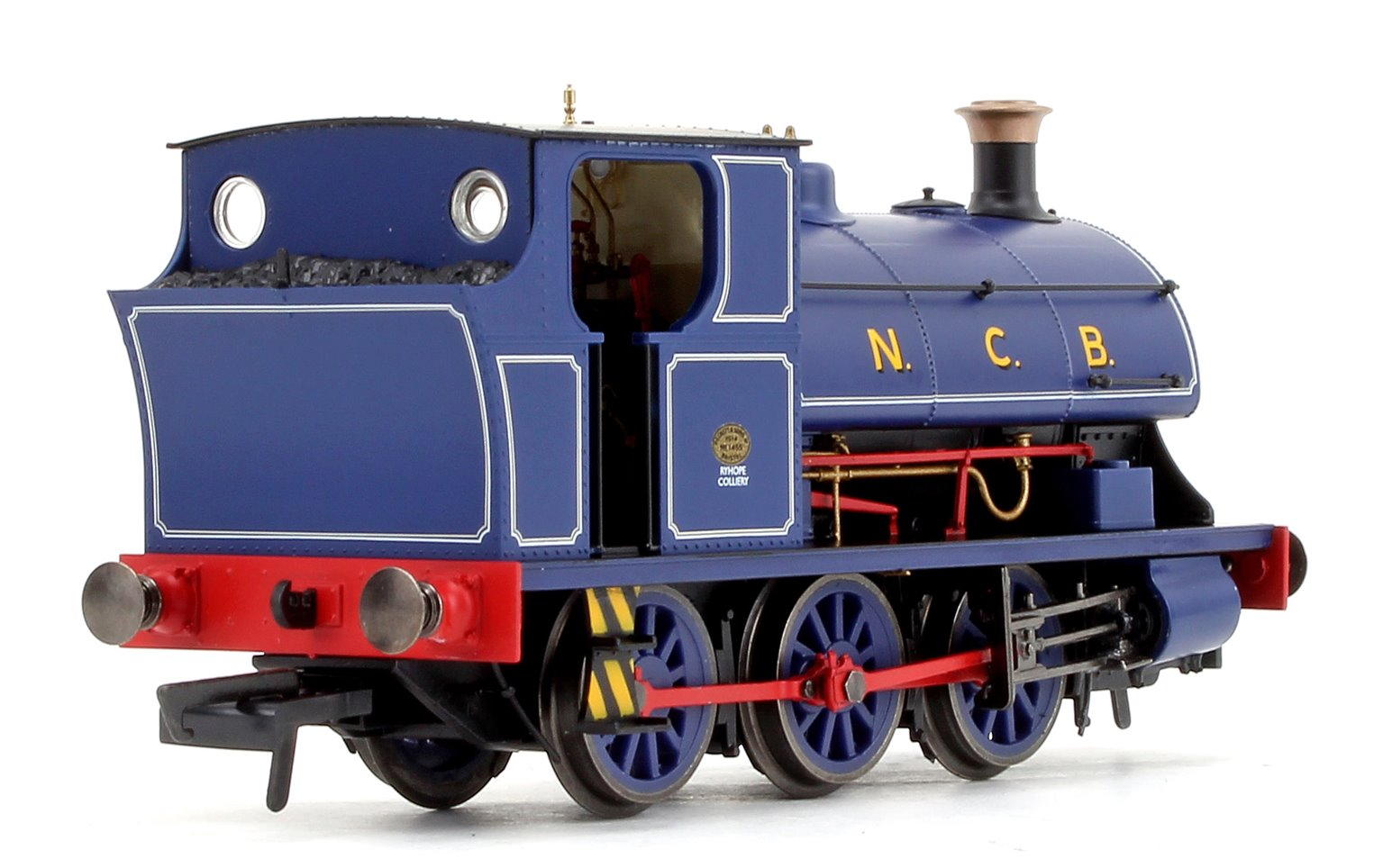 National Coal Board Peckett B2 Class 'Ryhope Colliery' NCB 0-6-0ST Locomotive No.1455 DCC FITTED