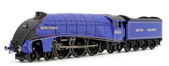 'Walter K Whigham' BR Experimental Purple Class A4 4-6-2 Steam Locomotive No. 60028