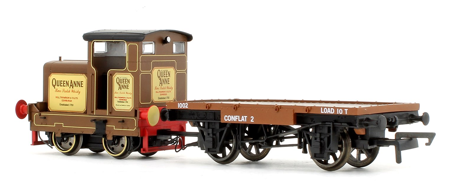 Longmorn Distillery 'Queen Anne' Ruston & Hornsby R&H 48DS 0-4-0 Locomotive