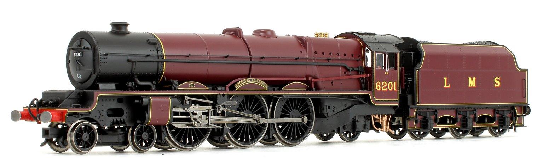 'Princess Elizabeth' LMS Princess Royal Class 4-6-2 Steam Locomotive No.6201