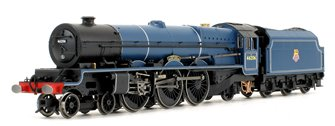 'Princess Marie Louise' BR Blue Princess Royal Class 4-6-2 Steam Locomotive No.46206 DCC FITTED