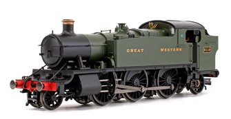 Class 61xx Large Prairie GWR Green 2-6-2 Tank Locomotive No.6110