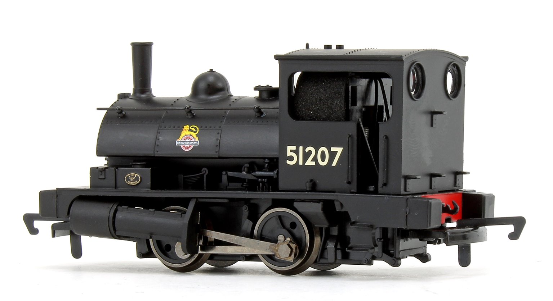 BR Black Class 21 'Pug' 0-4-0 Tank Locomotive No.51207