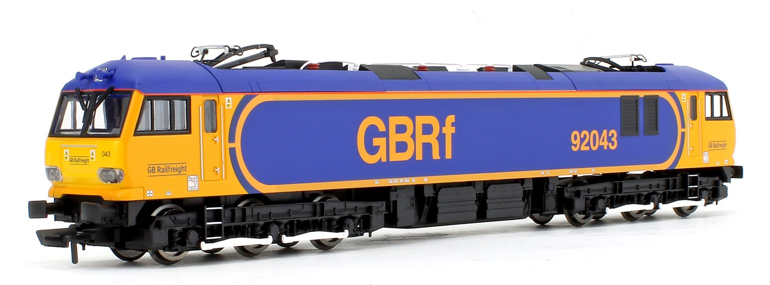 Class 92 043 'Debussy' GBRf Europorte Co-Co Electric Locomotive