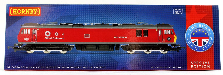 Class 92 DB Cargo Romania 'Mihai Eminescu' No.91 53 0 472 001-3 Co-Co Electric Locomotive (The Euro Connection)