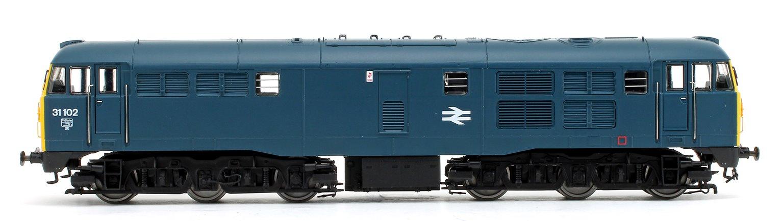 Class 31 102 BR Blue  A1A-A1A Diesel Locomotive