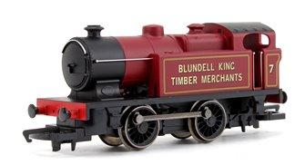 Blundell King Timber Merchants Type D 0-4-0T Locomotive No. 7