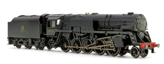 BR Crosti Boiler 9F Class BR Black 2-10-0 Steam Locomotive No.92028 (Heavily Weathered)
