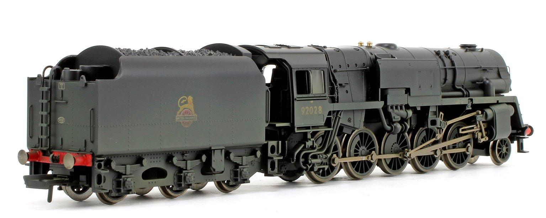BR Crosti Boiler 9F Class BR Black 2-10-0 Steam Locomotive No.92028 (Heavily Weathered)