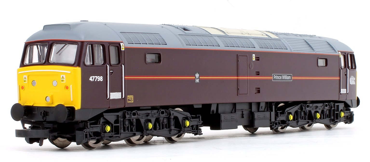 Class 47 798 'Prince William' EWS Royal Train Co-Co Diesel Locomotive