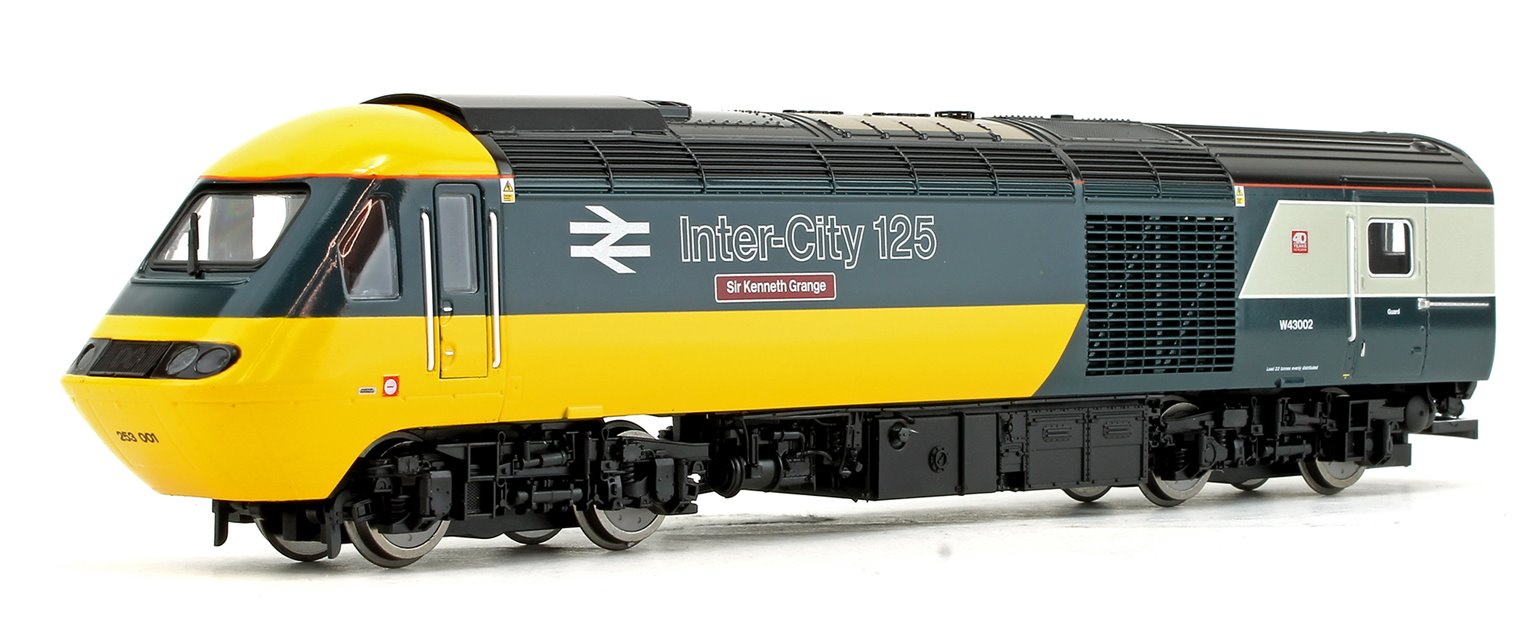 GWR Class 43 'First and Last' Power Cars Pack - Class 43002 'Sir Kenneth Grange' Intercity and Class 43198 'Driver Brian Cooper' GWR