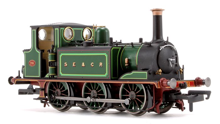 SE&CR 0-6-0 Terrier Locomotive No.751 DCC FITTED
