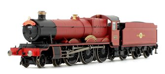 Harry Potter 'Hogwarts Castle' 4-6-0 Steam Locomotive No.5972 DCC with TTS Sound!