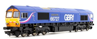 Class 66 727 'Andrew Scott CBE' GBRf Co-Co Diesel Locomotive