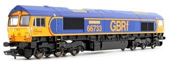Class 66 733 'Cambridge PSB' GBRf Co-Co Diesel Locomotive