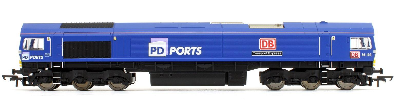 Class 66 109 'Teesport Express' PD Ports Co-Co Diesel Locomotive