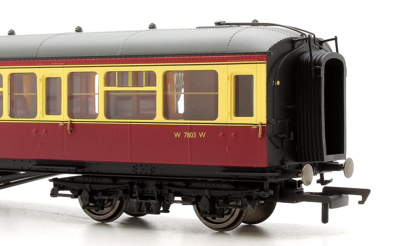 BR, 63' Hawksworth Corridor Composite, W7803W