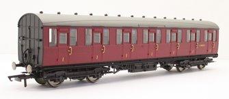 BR, 51' Gresley Non-Vestibuled Suburban First, E81032E