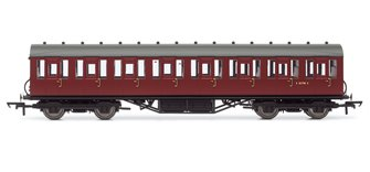 BR (Ex-LNER) Thompson Non-corridor 3rd Class Coach