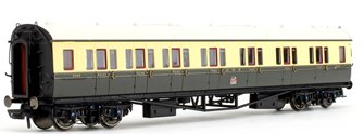 GWR Collett 'Bow Ended' Corridor Composite (L/H) Coach No.6528