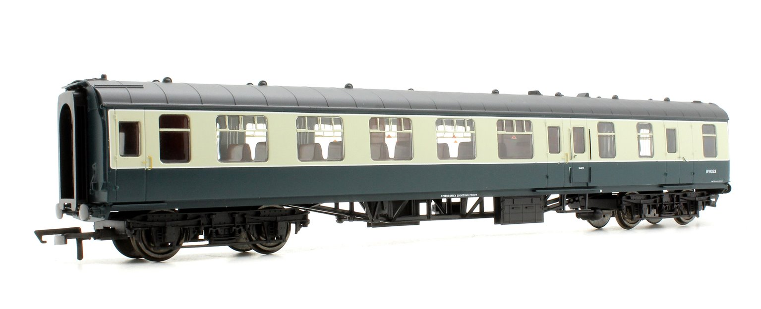 BR Mk1 Coach Brake Second Open 'W9353', Blue / Grey Livery