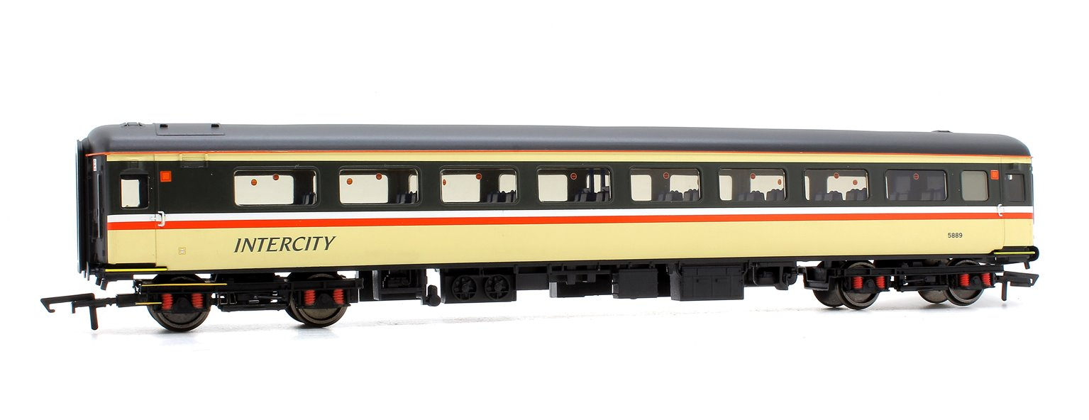 BR Mk2E Coach Tourist Open Second (TSO) '5889', Executive Livery